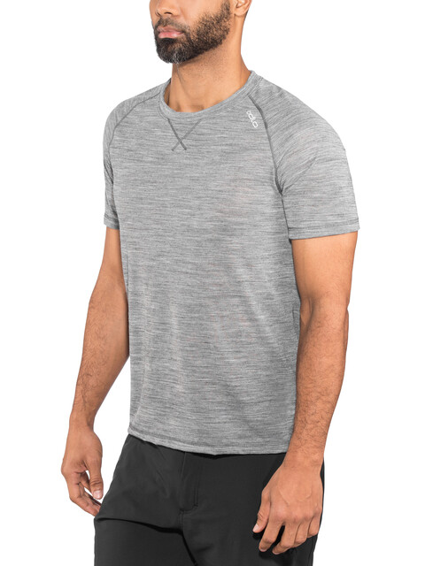 Odlo Revolution TW Light Shirt S/S Crew Neck Men grey melange